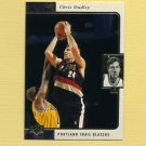 1995-96 SP Basketball #108 Chris Dudley - Portland Trail Blazers