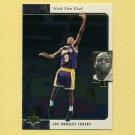 1995-96 SP Basketball #068 Nick Van Exel - Los Angeles Lakers
