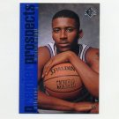 1996-97 SP Basketball #133 Lorenzen Wright RC - Los Angeles Clippers
