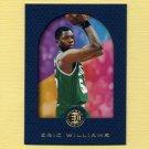 1995-96 E-XL Blue Basketball #006 Eric Williams RC - Boston Celtics