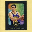 1995-96 E-XL Basketball #084 John Stockton - Utah Jazz