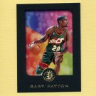 1995-96 E-XL Basketball #077 Gary Payton - Seattle Supersonics