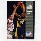 1994-95 Skybox Premium Basketball #183 Reggie Miller PO - Indiana Pacers