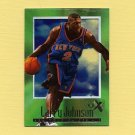 1996-97 E-X2000 Basketball #47 Larry Johnson - New York Knicks
