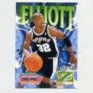 1996-97 Z-Force Basketball Z-Cling #79 Sean Elliott - San Antonio Spurs