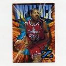 1996-97 Z-Force Basketball #97 Rasheed Wallace - Portland Trail Blazers