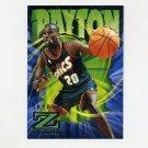 1996-97 Z-Force Basketball #84 Gary Payton - Seattle Supersonics