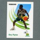 1991-92 SkyBox Basketball #274 Gary Payton - Seattle Supersonics