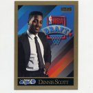 1990-91 SkyBox Basketball #363 Dennis Scott RC - Orlando Magic