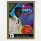 1990-91 SkyBox Basketball #356 Kendall Gill RC - Charlotte Hornets NM-M