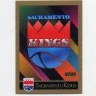1990-91 SkyBox Basketball #350 Sacramento Kings Team Checklist
