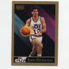 1990-91 SkyBox Basketball #284 John Stockton - Utah Jazz