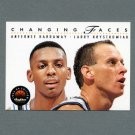 1993-94 SkyBox Premium Basketball #310 Anfernee Hardaway / Larry Krystkowiak - Orlando Magic