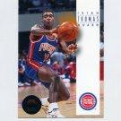 1993-94 SkyBox Premium Basketball #071 Isiah Thomas - Detroit Pistons