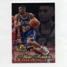 1996-97 Flair Showcase Basketball Row 1 #71 Allan Houston - New York Knicks