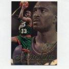 1996-97 Flair Showcase Basketball Row 2 #84 Hersey Hawkins - Seattle Supersonics