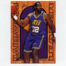 1995-96 Fleer Flair Basketball Hardwood Leaders #26 Karl Malone - Utah Jazz