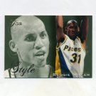 1995-96 Flair Basketball #239 Reggie Miller STY - Indiana Pacers
