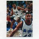 1995-96 Flair Basketball #224 David Vaughn RC - Orlando Magic