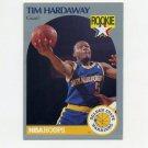 1990-91 Hoops Basketball #113 Tim Hardaway RC - Golden State Warriors