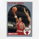 1990-91 Hoops Basketball #069 Scottie Pippen - Chicago Bulls