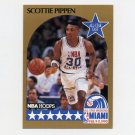 1990-91 Hoops Basketball #009 Scottie Pippen AS - Chicago Bulls ExMt