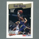 1991-92 Hoops Basketball #499 Karl Malone SC - Utah Jazz