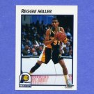 1991-92 Hoops McDonald's Basketball #17 Reggie Miller - Indiana Pacers