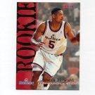 1994-95 Hoops Basketball #378 Juwan Howard RC - Washington Bullets