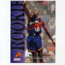 1994-95 Hoops Basketball #364 Wesley Person RC - Phoenix Suns