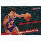 1995-96 Hoops Basketball #215 John Stockton MS - Utah Jazz
