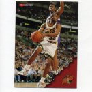 1996-97 Hoops Basketball #146 Hersey Hawkins - Seattle Supersonics