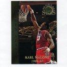 1996-97 Topps Stars Basketball #076 Karl Malone GS - Utah Jazz