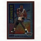 1995-96 Finest Basketball Mystery #M11 David Robinson - San Antonio Spurs