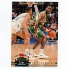 1992-93 Stadium Club Basketball #124 Gary Payton - Seattle Supersonics