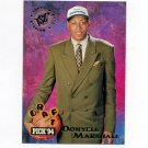 1994-95 Stadium Club Basketball #182 Donyell Marshall RC - Minnesota Timberwolves