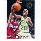 1994-95 Stadium Club Basketball #117 Gary Payton - Seattle Supersonics