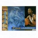 1996-97 Stadium Club Basketball Rookie Showcase #RS23 Priest Lauderdale - Atlanta Hawks