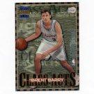 1996-97 Stadium Club Basketball Class Acts #CA03 Brent Barry / Gary Payton