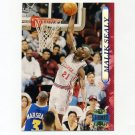 1996-97 Stadium Club Basketball #171 Malik Sealy - Los Angeles Clippers