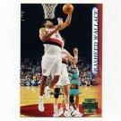 1996-97 Stadium Club Basketball #154 Rasheed Wallace - Portland Trail Blazers