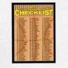 1999-00 Topps Basketball #NNO NBA Basketball Checklist