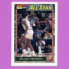 1992-93 Topps Gold Basketball #110G Dikembe Mutombo AS - Denver Nuggets