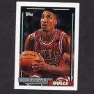 1992-93 Topps Basketball #389 Scottie Pippen - Chicago Bulls