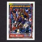 1992-93 Topps Basketball #199 Karl Malone 50P - Utah Jazz