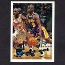 1995-96 Topps Basketball #163 Nick Van Exel - Los Angeles Lakers