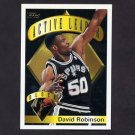 1995-96 Topps Basketball #005 David Robinson AL - San Antonio Spurs