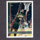 1997-98 Topps Basketball #092 Shawn Kemp - Seattle Supersonics