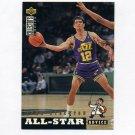 1994-95 Collector's Choice Basketball #196 John Stockton ASA - Utah Jazz