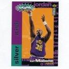 1995-96 Collector's Choice Crash the Game Scoring Silver Redemption #C08 Karl Malone - Utah Jazz